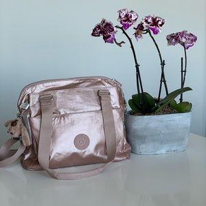 Kipling rose gold bag